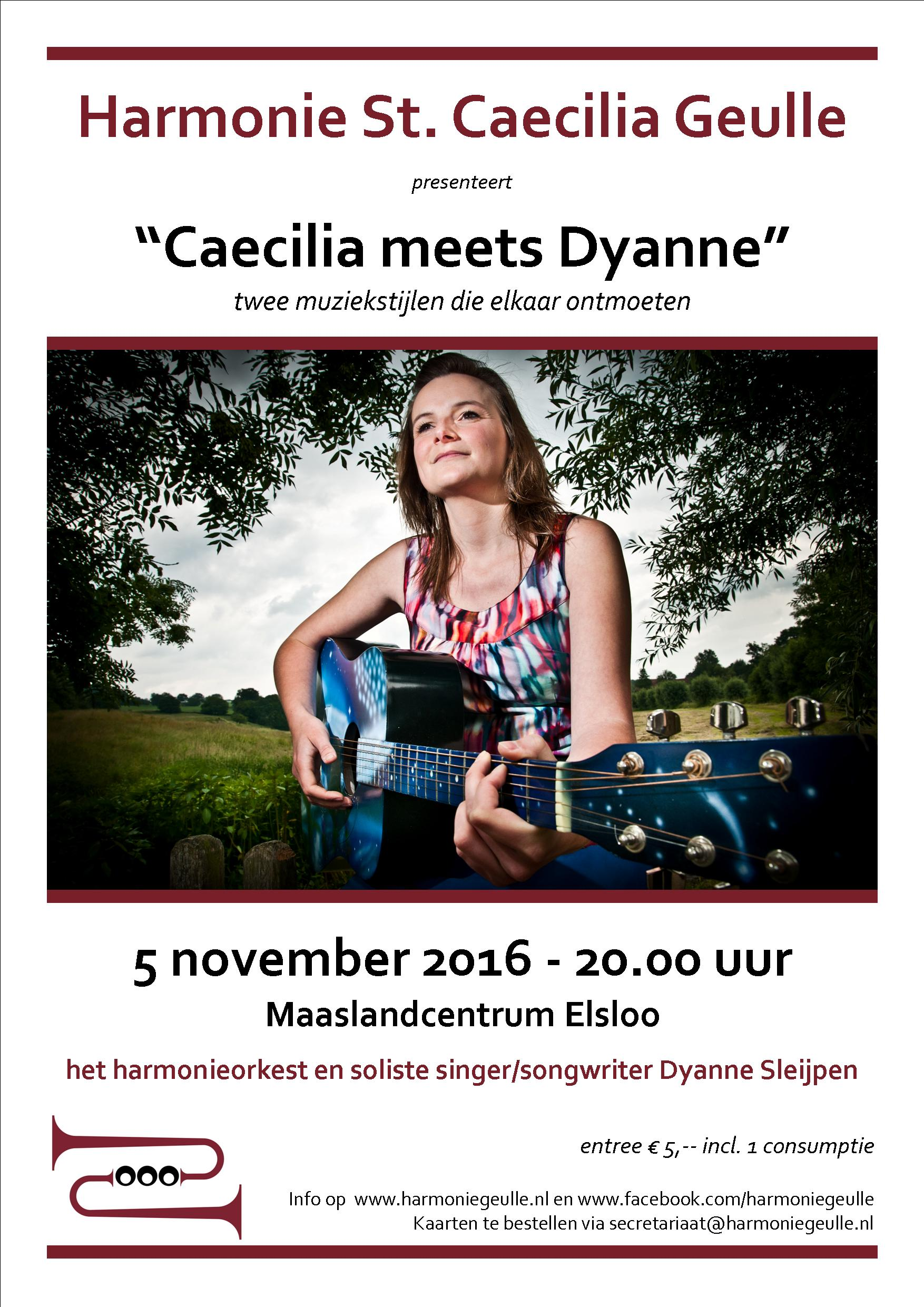 Caecilia meets Dyanne Poster A3 def